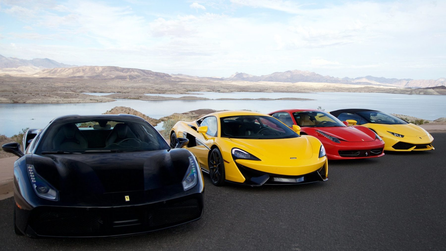 Drive Exotic Cars On A Race Track