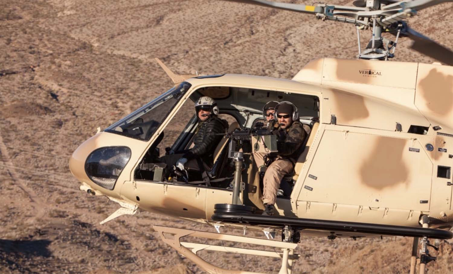 Shoot-from-a-helicopter