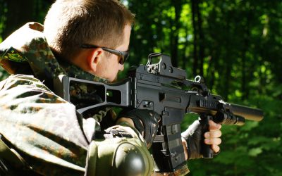 Find Your Inner-Soldier at a Las Vegas Outdoor Shooting Range